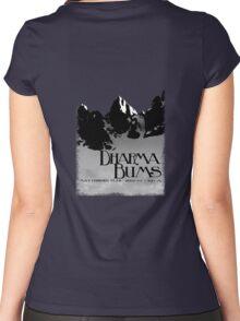 dharma bums - matterhorn peak Women's Fitted Scoop T-Shirt