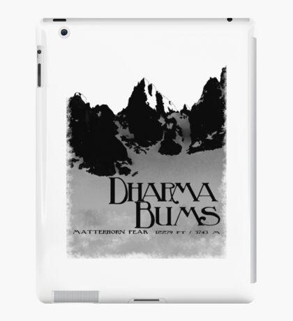 dharma bums - matterhorn peak iPad Case/Skin