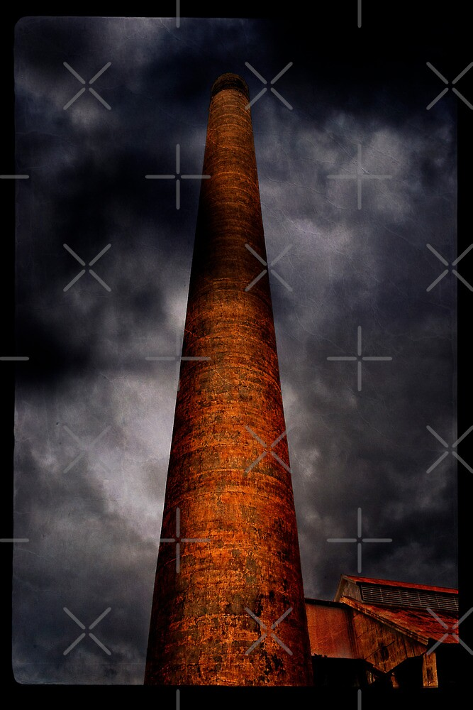 Pioneer Sugar Mill Co. Smokestack by Alex Preiss
