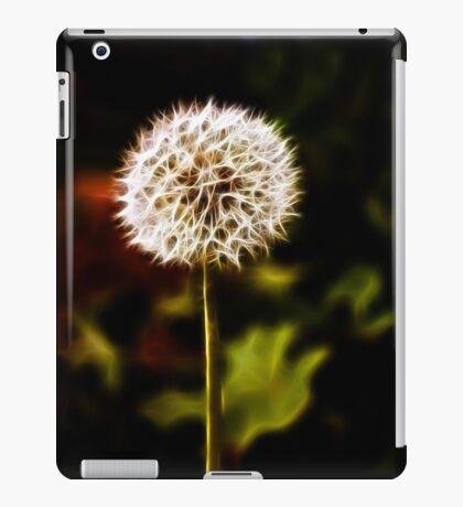 Puffball flower dandellion iPad Case/Skin