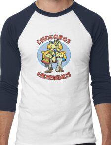 Chocobos Hermanos Men's Baseball ¾ T-Shirt