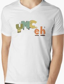 YMC eh? Mens V-Neck T-Shirt