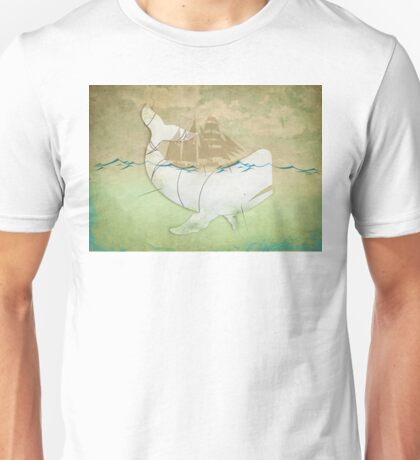 The Ghost of Captain Ahab Unisex T-Shirt