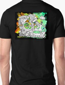 """French Horn"" Great Graffiti Graphics  T-Shirt"