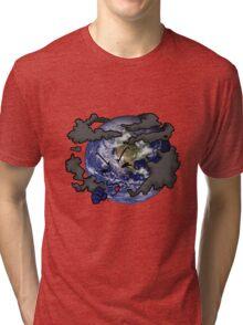 Stop Pollution Tri-blend T-Shirt