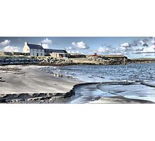 60N........ The Beach at Sandness Photographic Print