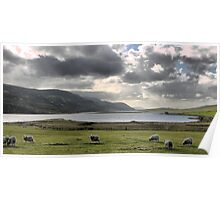 60N... Heading Home from Scalloway Poster