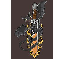 Toothless & Sword Tat Photographic Print