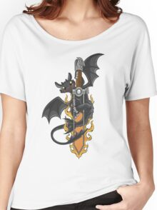 Toothless & Sword Tat Women's Relaxed Fit T-Shirt