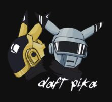 Daft Punk - Pikachu version (color) by Eternia