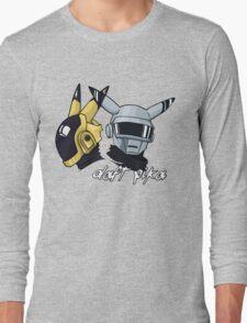 Daft Punk - Pikachu version (color) Long Sleeve T-Shirt