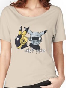 Daft Punk - Pikachu version (color) Women's Relaxed Fit T-Shirt