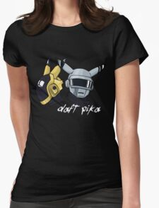 Daft Punk - Pikachu version (color) Womens Fitted T-Shirt