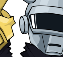 Daft Punk - Pikachu version (color) Sticker