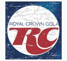 Vintage RC Cola design Kids Tee