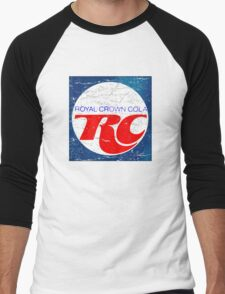 Vintage RC Cola design Men's Baseball ¾ T-Shirt