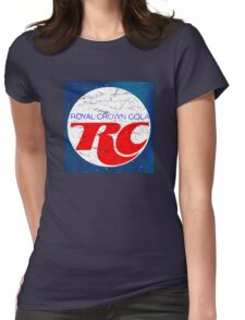 Vintage RC Cola design Womens Fitted T-Shirt