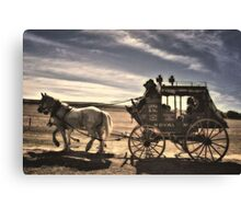 Cobb & Co Coach Canvas Print