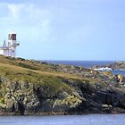 60N... The Scalloway Light by Larry Davis