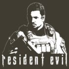 chris redfield by myacideyes
