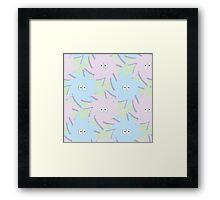 Fluffballs Framed Print
