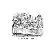 "Alice In Wonderland ""Mad Tea Party""   Photographic Print"