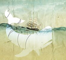 Moby Dick, the crusade by Vin  Zzep