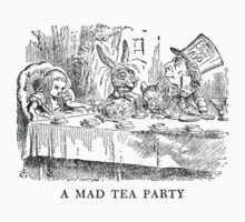 "Alice In Wonderland ""Mad Tea Party""   by Framerkat"