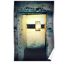 Battery Mishler Telephone Room 2 Poster