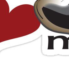 I love my staffy 2 Sticker
