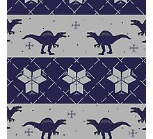 Deck The Halls With Dinosaurs Photographic Print