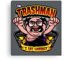 The Trashman Canvas Print