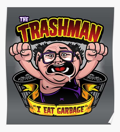 The Trashman Poster