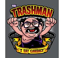 The Trashman Photographic Print