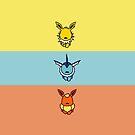 The Eevee Boys by Nicholas Poulos