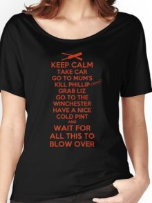 Keep Calm and Blow Over Women's Relaxed Fit T-Shirt