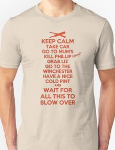 Keep Calm and Blow Over Unisex T-Shirt