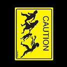 CAUTION Zombie Crossing! by Humerus