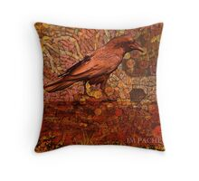 Raven 3 Throw Pillow