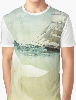 White Tail Graphic T-Shirt