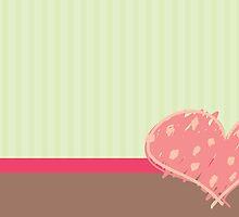 Sweet Heart Card by Starsania