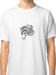 Nikon FE with MD-12 Motor Drive Drawing Classic T-Shirt