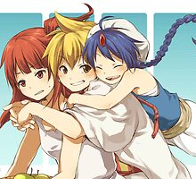 Magi Trio by banafria