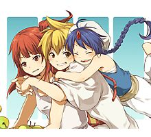 Magi Trio Photographic Print