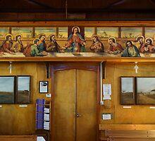 Catholic Church, Stanley, Falkland Islands by Geoffrey Higges
