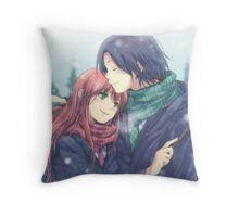 Harry Potter - Snape/Lily Throw Pillow