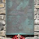 1982 War Memorial, Stanley, Falkland Islands by Geoffrey Higges