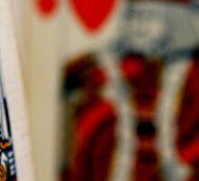 King of my Heart Sticker