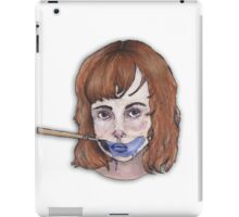 Blue. iPad Case/Skin