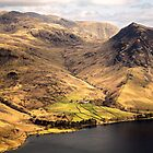 Yewbarrow - Wast Water by David Lewins